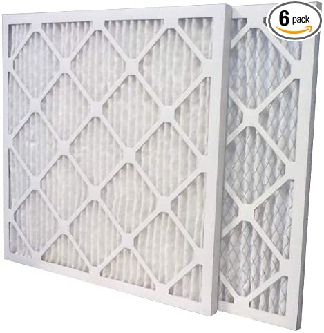 6-Pack Made in the USA Aerostar 20x20x1 MERV 13 Pleated Air Filter