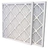US Home Filter SC80-20X22X1-6 20x22x1 Merv 13 Pleated Air Filter (6-Pack), 20' x 22' x 1'