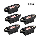 uxcell 5pcs AC 110V to 220V 6 Terminals DPDT 2