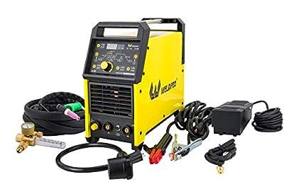Weldpro Digital TIG ACDC 200GD AC/DC 200 Amp TIG/STICK Welder with Dual Voltage 220V/110V welding machine