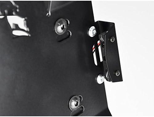 Lateral Soportes para matr/ícula Matr/ícula Soporte de matr/ícula Matr/ícula placa de sujeci/ón para Suzuki Intruder VL 1500/Intruder C//VZR M 1800/R todos los a/ños de construcci/ón Ibex