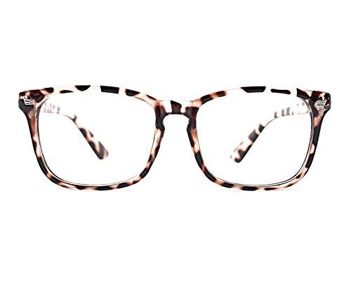 TIJN Unisex Square Wayfarer Rx-able Eyeglasses Frame,Sexy