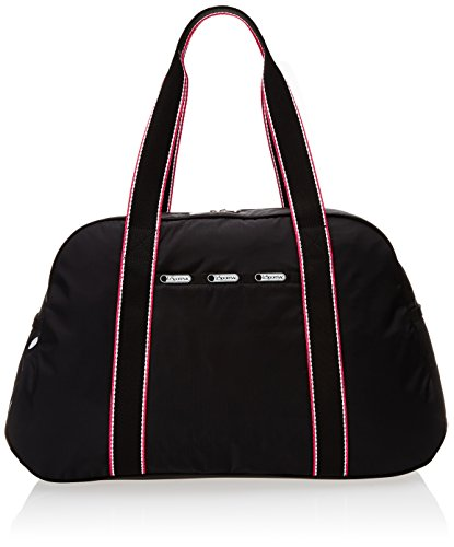 LeSportsac Gym Overnighter Carry On, Black Fit, One Size