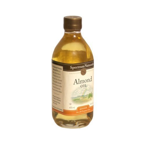 Spectrum Naturals Sweet Refined Almond Oil 16 Oz -Pack of 3 by Spectrum Diversified