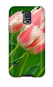 New Shockproof Protection Case Cover For Galaxy S5/ Flower Case Cover