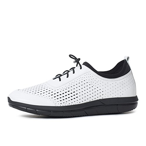 outlet great deals clearance fashion Style Men's Casual Shoes Dress Mountain Climbing Autumn Outdoor Lace Up Sport Shoes Slip On Black Or White White 2015 sale online clearance shop offer huge surprise cheap price 7LprVfFwc1