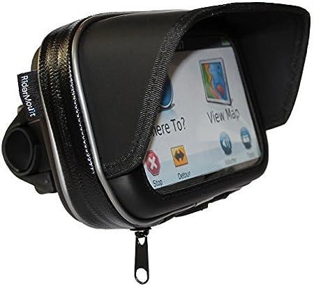 Ridermount Wasserdicht 12 7 Cm Sonnenschutz Gps Satnav Elektronik