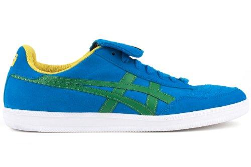 buy popular 41e9c dcdbc Onitsuka Tiger Hulse Fashion Sneaker,Mid Blue/Green,11.5 M ...