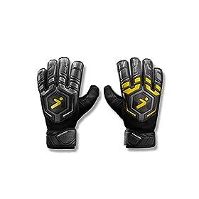 Storelli Gladiator Challenger Goalkeeper Gloves | Protective Soccer Goalie Gloves | Enhanced Finger and Hand Protection