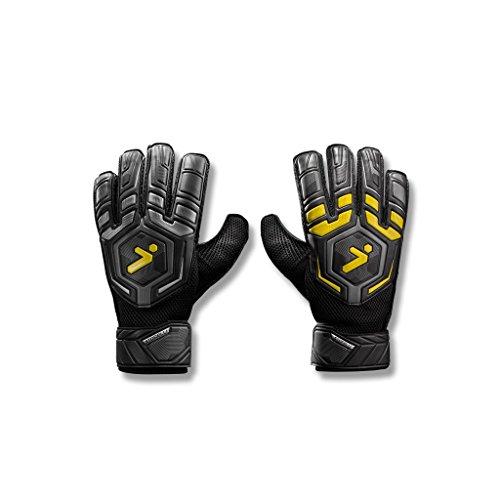 Storelli Gladiator Challenger 1 Goalkeeper Gloves |Soccer Equipment |Super-Soft ()