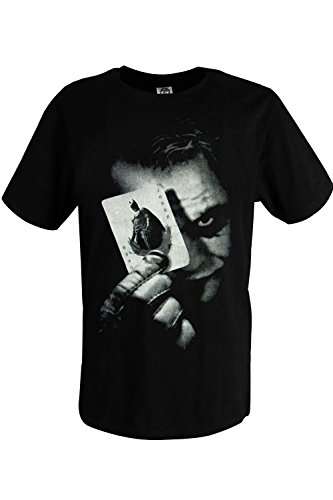 Sidnor Batman The Dark Knight Joker T Shirt Cotton Outfit(Black)