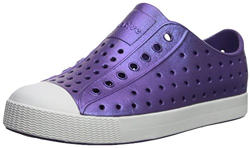 Nativo Niños Jefferson Iridescent Junior Zapato de Agua, Starfish Purple/Galaxy, 1 M US Little Kid