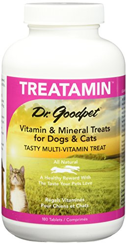 - Dr. Goodpet Pet Vitamin/Mineral Tablets for Pets, Small