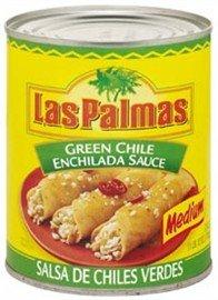 Las Palmas Green Chile Enchilada Sauce, Medium Spice, 28 (Las Palmas Green Chile Enchilada Sauce)