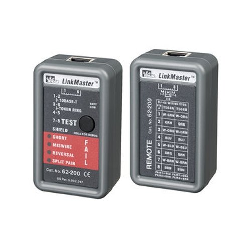 (Ideal 62-200, Linkmaster Tester, Pack of 3 pcs)