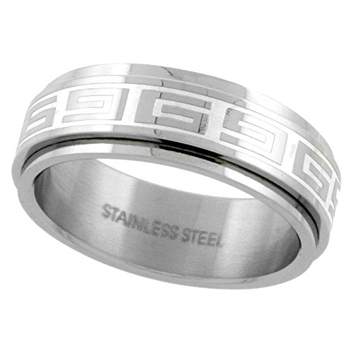 Surgical Stainless Steel Spinner Wedding