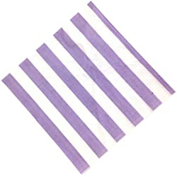"Just Artifacts Paper Party Napkins 6.5"" 20pcs Striped Lilac - Click for more colors & patterns!"