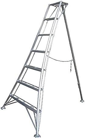 Snickers Heavy Duty Comercial 1 x telescópica ajustable de la pierna jardín trípode escalera, para profssional arborists & árbol cirujanos: Amazon.es: Bricolaje y herramientas
