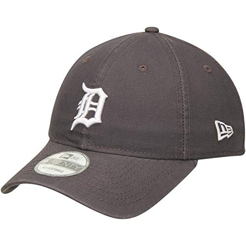 (New Era Detroit Tigers Primary Logo Graphite Core Classic 9TWENTY Adjustable Hat)