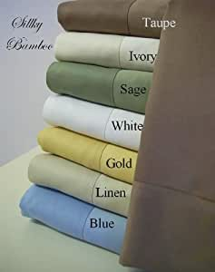 """100% Viscose from Bamboo """"Super Soft"""" Standard Pillow cases (pair)"""