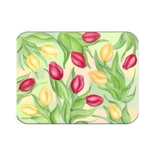 (Tuftop Tulips Cutting Board Size: Medium (12x16) by McGowan)