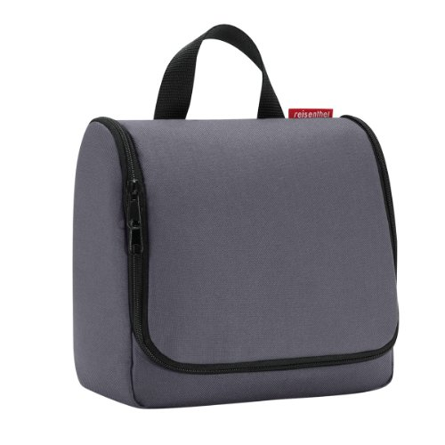 Price comparison product image reisenthel Toiletbag, Hanging Wash Bag, Make-Up Bag, Beauty Case, graphite, WH7033