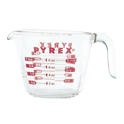 Pyrex 6001074 Measuring Cup, 8 Oz.