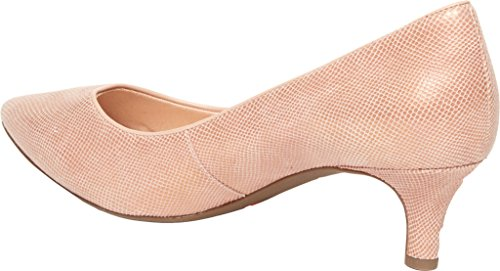 Leather Dress Kalila Snake Rockport Motion Women's Pink Total Pump vpIxHw8Hqt