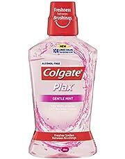 Colgate Plax Antibacterial Alcohol Free Mouthwash Gentle Mint