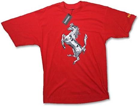 Scuderia Ferrari F1 Team para hombre plata caballo Graphic Rojo Camiseta Rojo rosso Talla:XL: Amazon.es: Deportes y aire libre
