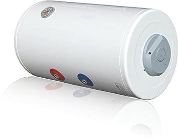 Calentador eléctrico 120 L Horizontal idropi flangiato vetroporcellanato