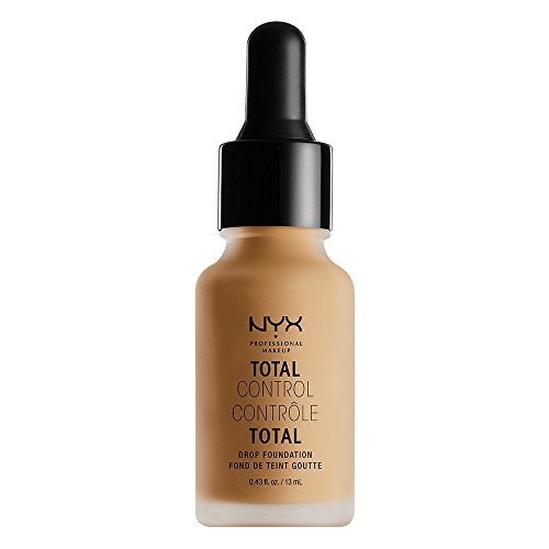 NYX PROFESSIONAL MAKEUP Total Control Drop Foundation, Golden, 0.43 Fl Oz
