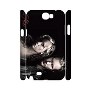 C-EUR Diy case Ture Blood customized Hard Plastic 3D Case For Samsung Galaxy Note 2 N7100 [Pattern-2]