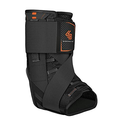 Shock Doctor 851 Ultra Wrap Laced Ankle Brace, Black, Small – 17926