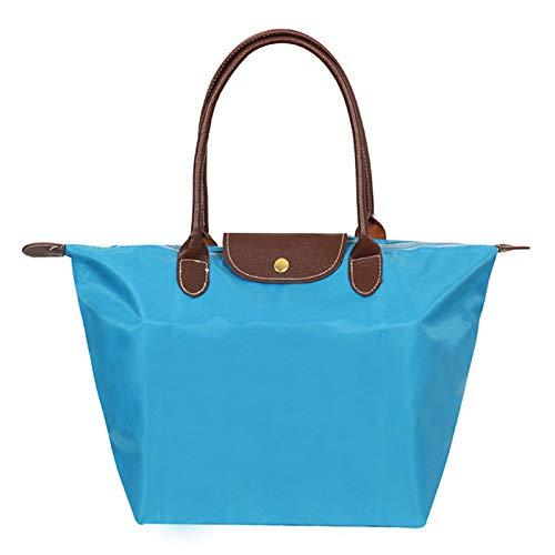 Nylon de Claro Rojo Azul para Aire Bolsos Rojo Oficina de Bolsa Hombro Fucsia claro al de Formal Carrera y Libre Azul GMYAN Mujer 0wF5ffq