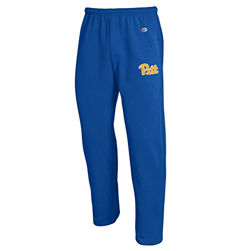 Pitt Panthers Sweatpants Pockets Royal Blue - XXL