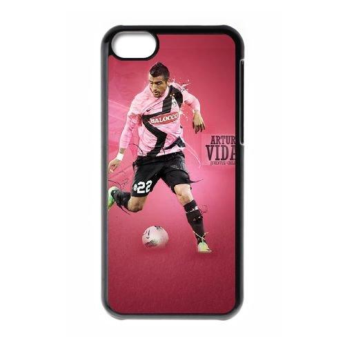 Arturo Vidal coque iPhone 5C Housse téléphone Noir de couverture de cas coque EBDOBCKCO17609