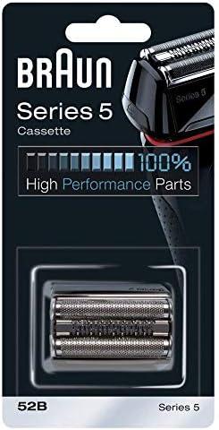 Braun Cassette 52B - Recambio para afeitadora eléctrica hombre Series 5, compatible con generación actual de Series 5 y antigua: Amazon.es: Salud y cuidado personal