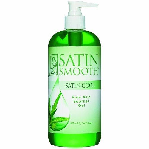 SATIN SMOOTH Satin Cool Aloe Vera Skin Soother 16.75 oz SSWLA16