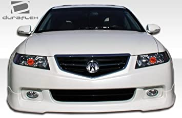 Acura TSX Duraflex JSpec Front Lip Under Spoiler Air Dam - 2005 acura tl accessories