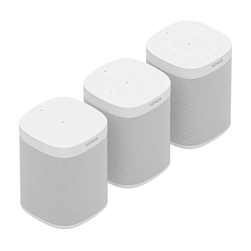 Buy Bargain All-New Sonos One Three Room Set (White)