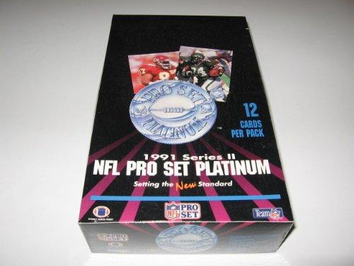 (1991 Pro Set Platinum Football Series 2 Box)