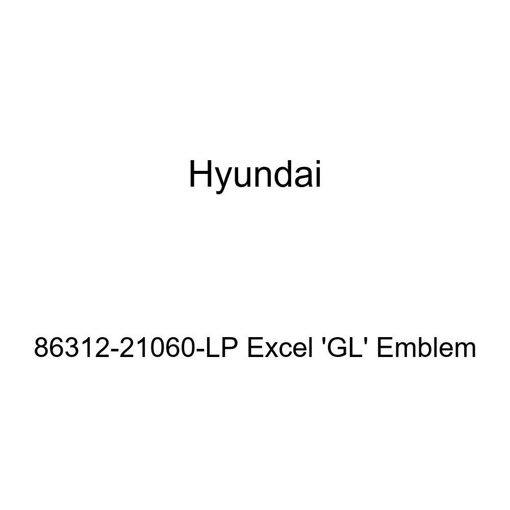 HYUNDAI Genuine 86312-21060-LP Excel GL Emblem