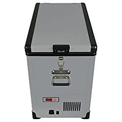 Whynter Fm-452sg Elite 45 Quart Slim Fit Portable Freezerrefrigerator With 12v Option, Gray