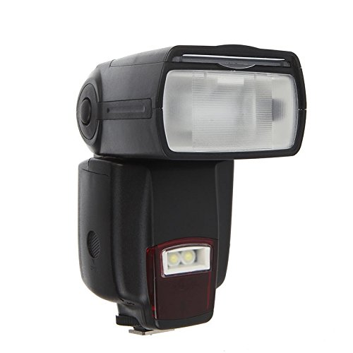 ProHT Camera Flash Speedlite (02528A) with Standard Hot Shoe for Canon Nikon Panasonic Olympus Pentax and Other DSLR Cameras, Digital Cameras