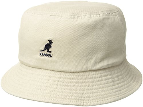 Kangol Men s Heritage Collection Washed 100% Cotton Bucket Hat 7b9d0d3457d