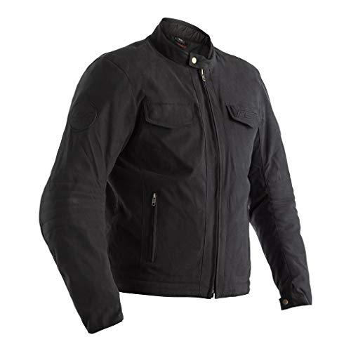 (RST Crosby TT CE Black Charcoal Textile Motorcycle Jacket Size UK46,EU56,XL)