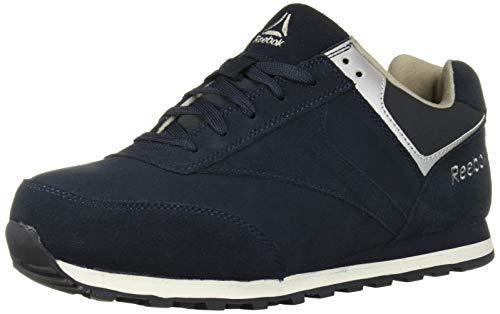 (Reebok Work Men's Leelap RB1975 Safety Shoe,Blue,10.5 W US)