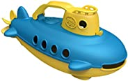 Submarine in Yellow & Blue - BPA Free, Phthalate Free, Bath Toy with Spinning Rear Propeller. Safe Toys fo