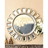 Brilliant Sunburst / Starburst Wall Mirror